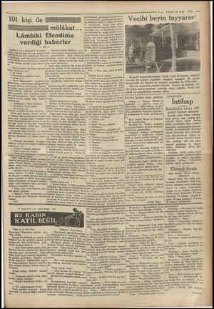 1930 — 3 — VAKIT 22 Eylül İkuvvetlensek, patrikhame vasıtası ile sa| İle hıristiyanları yunanlılaştırsak, sara- mülâkat...