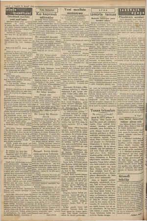 —4 — VAKIT 30 MART 1931 GÜNÜN —-—— YANİ Dördüncü mecliste yeni meb'uslar Dördüncü Büyük millet merlisinin|turan Nasliç...