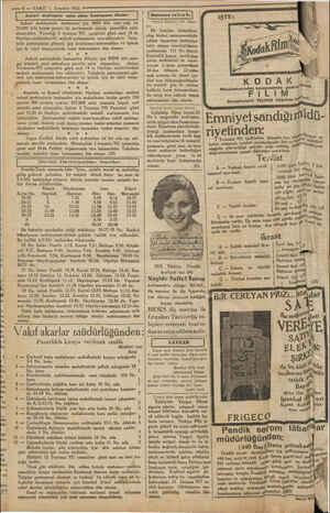 — 8 — VAKIT 1 Temmüz 1931 Askeri mektepler satın alma komisyonu ilânları ) | Mahkeme ve İcra İri | Askeri mekteplerle...