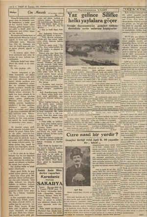 mk 5 - -——— 6 — VAKTT 10 Temmuz 1931 — Çin Masalı Bir bavadisten nakleden Kiang-Su hükümetinde, vaktile gayet zalim bir...