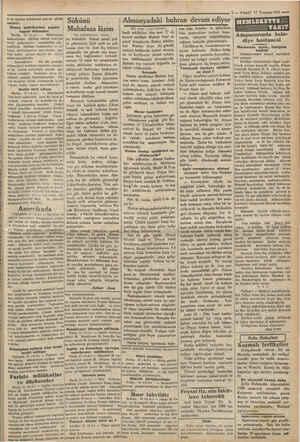 ki bu ümidin tahakkuku pek az görül mektedir. Alman müfritlerinin şayanı ihtirazları Berlin, 15 (A.A.) — Müfritlerin...