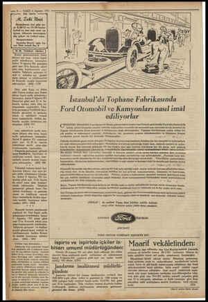 Si © — 8— VAKIT 6 Ağustos 1931 Diş tabibi Hastalarını her gün sa- at 8,30-12 ve 13-20 kadar kabul ve her salı saat on üçten