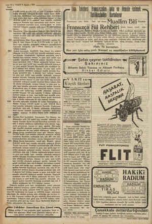 © çi 12.2 VAKTT 9 Ağustos 1931 i Senet 716 322 512 $15 519 ra ve «> Usküdar Amerikan Kız Lisesi < Mektep eylülün 17 inci...