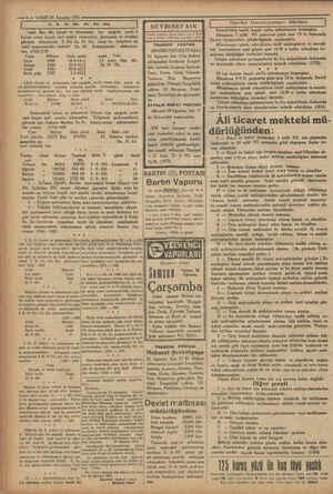 ig YA © —6 VAKİT 24 Ağustos 1931 zniğei ğ ii - ee ği —— SEYRISEPAİN Romorkörün tamiri kapalı zarfla münakasaya...