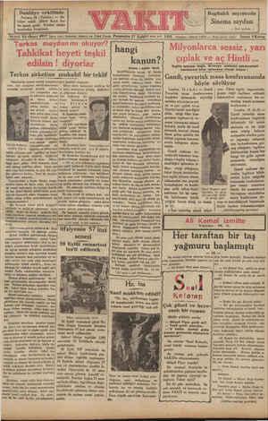 Ta Bugünkü sayımızda Sinema sayıfası — Sinci sayıfada — Ankara, 16 ( Telefon) — Da-   hiliye vekili Şükrü Kaya bey bu sabah