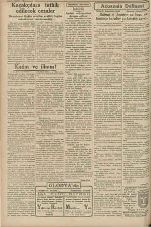 açak 24 Kânunuevvel 1931 çılara tatbik edilecek cezalar Hazırlanan lâyiha meclise verildi. Bugün müzakeresi muhtemeldir Son