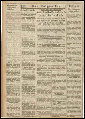 — 27— VAKIT 3 Kânunusani 1932 - Nihayet haklı Olduğumuz Anlaşıldı ( Üst tarah 1 inci sayfada | Keyfiyet bugün, yarın...