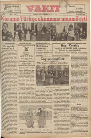 I Yalova türküsü Darülbedayide oynanan ilk Şarkılı komedi tenkit makalesi Sayıfamızd Sinci Yl Sayı: 5048 pl. se ikm < Ağa...