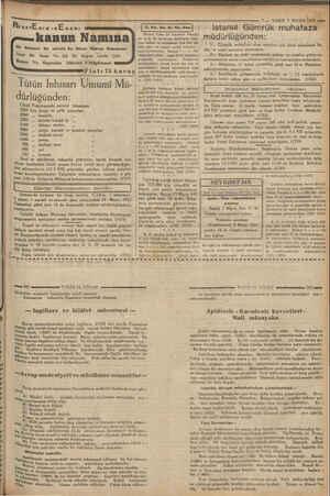 — Saat (10) da Galatada Mübayaa komisyonuna müracaatları, (1707) # ie ResarEnisınE seni s kanun Namına Bu Senenin En...
