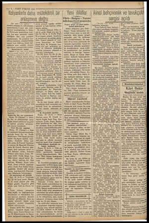 — 4 — VAKIT 27 MAYIS 1932 İtalyanlarla daha mütekâmil bir anlaşmıya doğru Üst tarafi £ inci sayfdas dostluk, uzlaşma, ve adli
