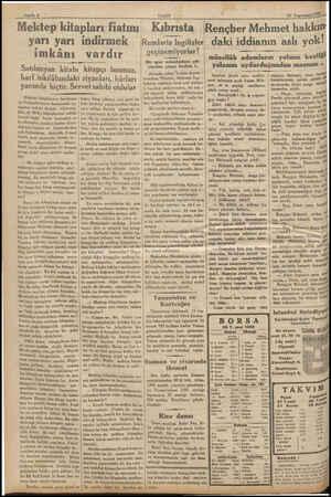 Sayıfa 4 VAKIT - Mektep kitapları fiatını Kıbrısta İRençber Mehmet hakkın daki iddianın aslı yok! yarı yarı imkânı indirmek