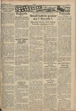 il 1 1932 Kitapların pabâlılığı ; lebenin teşkilât- ; sızlığındandır ii, Günler var ki Babrâli caddesi vel,  viribirine...