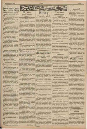 26 Kânunuevvel 1932 İşaretler | m meraneun. Namık Kemal, Ziya Paşa, Tevfik Fikret ütopi içinde idiler Hepiniz...