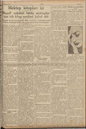 iğ YA TAŞA N » İİK21 Mart 1933. ANKARA, 23 (Hususi) — tep kitapları işini bütün tefer- tile tetkik etmiş olan Maarif i...