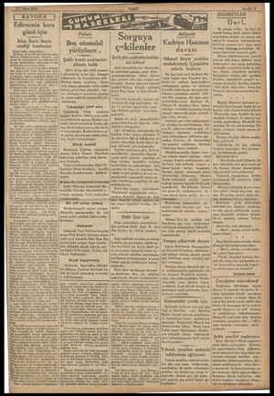 """.. 7 Mart 1933. serer resime serer SEREN """"RAYODA Edirnenin kara günü için İrfan Emin Beyin verdiği konferans Saygı değer..."""