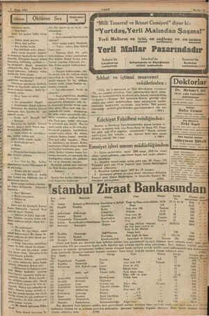 """1933 EZ z sai """"Milli Tasarruf ve Iktısat Cemiyeti"""" diyor ki: il sordu:   kir. Sen benim en iyi veen eski ru pr..."""