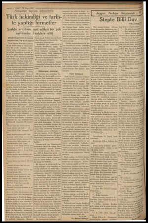 pe 8 — VAKIT 13 Mayıs 1933 Tıbbiyeliler bayramı münasebetile o... | Türk hekimliği ve tarih- | zengindir baş tabip ve ikinci