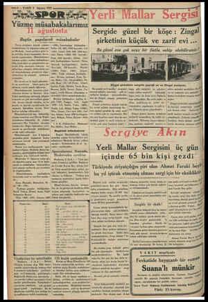 Zili Ea ömreleei v5 yrd ye 4 Ağustos 1933 « A SsPeoR Yüzme ELDA ağustosta Bugün yapılacak müsabakalar Tertip ettiğimiz büyük