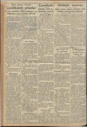 """: Tm 3 — VAKİ 10 Eylül 1933 Büyük şehitlerin huzurunda > Çanakkalede le yatanlar:   sehii """"55 bin şehidimiz, İ0bin kayıbımız"""