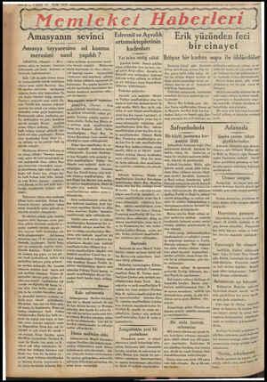 — 6 — VAKIT 11 Eylül 1933 m yg yy A ( Memleket Haberleri i Ez yg yy yy yg yag yg yg İ Edremit ve Ayvalık ortamekteplerinin