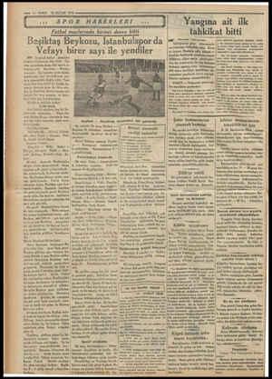 —— 4—VAKIT LALA LA AGAH AC MBA KZRREREREEEAUTI SPOR HABERLERİ BAAR GG e A AGLA TD ATÇI Futbol maçlarında birinci devre bitti