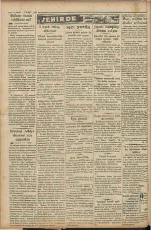 —4—VAKIT 3 MART 1954 e Balkan misakı tehlikede mi? MA Prmasliden devam) sözüne hak vermek lâzım gelirdi. Binaenaleyh M....