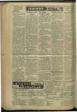 wwe 4—VAKIT 16 MAYIS 1934 Silâhsızlanma biss eren Akıbeti DE ozet A devam) Bstatbilide sıhhi emiyen devletleri (o nihayet