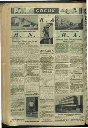 Ankarada Ticaret mektebinin güzel binası Ufak Masal: Hemşehrim.. Merak etme her yol : Ankaraya gider ! Anlatığım hikâye