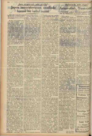 """19 — VAKİT18 AĞUSTOS 1934 Japon saraylarında neler gürülür? """"Japon imparatorunun nezdinde hususi bir kabul resmi (Japon..."""