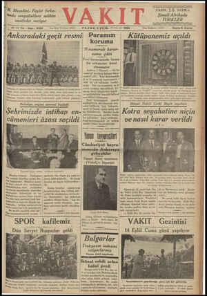 M. Musolini, Faşist fırka- #nda sosyalistlere mühim vazifeler veriyor Mama © Yazı İşleri Telefonu: 24379 7 inci Yal, « Sayı: