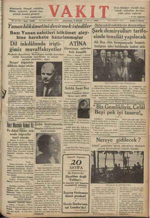 Almanyada iktisadi zorluklar Hitler rejiminin içtimai siya- setinde kendini gösterdi — 2nci 17 indi Yıl * Sayı: 5985...