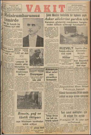 Siyı 2 EYLOÜL 1941 KUPONLARIMIZ 31 Ağustostan itibaren — toplanacalı kupoazların ber Gü adedine —mukah! VARIT öokuyucuları