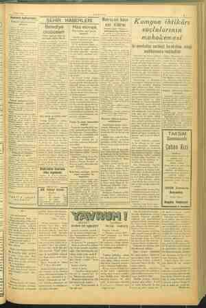 pi l 19 Ocak 1945 -VAKIT- sam Askara haberi i 'ni i — ŞEHİR HABERLERİ   Metresnin koca:   htikâ ö'dü amyon ıntıkarı © Jİ