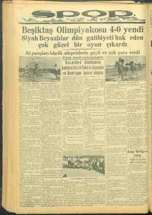 Beşiktaş Olimpiyakosu 4-0 yendi Siyah Beyazlılar dün galibiyeti hak eden çok güzel bir oyun çıkardı o AÂtyarışları mall...
