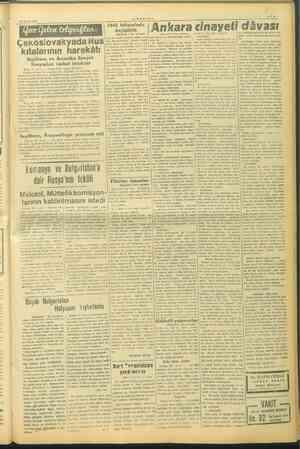 o s 4 23 Mayıs 1946 —VAGIT— 1946 bütçesinde değişiklik (Baştarafı 1 inci sayfada) İ Başlarafı 1 inci sayiada) son in ve...