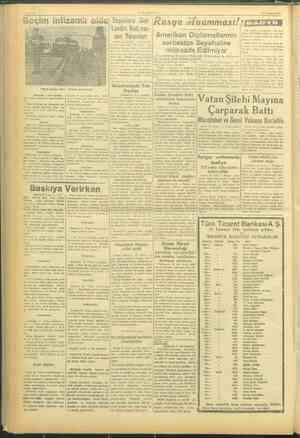 ji | ie —VAKIT— | 22 Temmuz 1945 M0 — Seçim intizamlı oldu) Seçime Dar RAusya Muamması!| LYA NN l İ | Londra Rad;osu- az