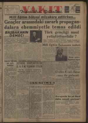 Vi 25 ARE EV ii stanbul Ankara Cndit O ARTI Yurdu Telg. lat. VAKI > Kutusu yı:s0 | ç isare Ki 10492 | 799 y Yazı: Milli...