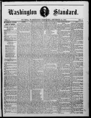 The Washington Standard sayfa 1