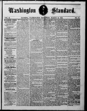 H»sli»gf®« mm VOL. 11. THE KASmSfiTOJ STANDARD —MSUBD IVBEY SATURDAY MORNING BY— JOHN MILLER IMRPHY, Editor and Proprietor.