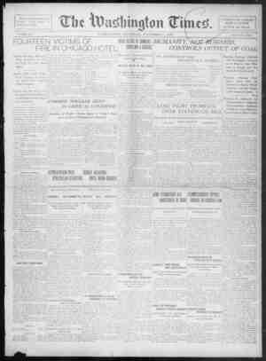 The Washington Times Gazetesi 4 Aralık 1902 kapağı