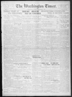 The Washington Times Gazetesi 5 Aralık 1902 kapağı