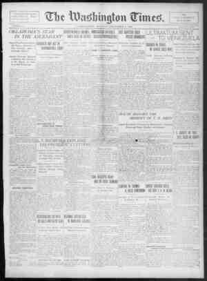 The Washington Times Gazetesi 8 Aralık 1902 kapağı