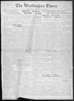 The Washington Times Gazetesi 9 Aralık 1902 kapağı