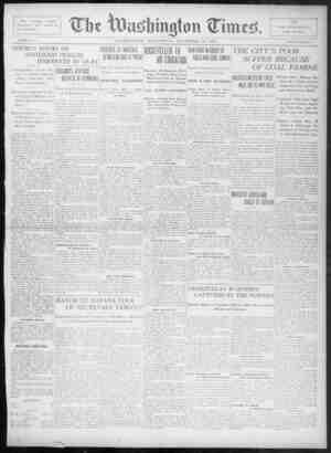The Washington Times Gazetesi 10 Aralık 1902 kapağı