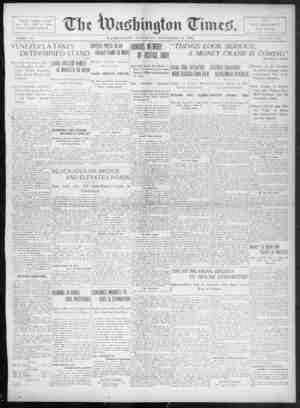 The Washington Times Gazetesi 13 Aralık 1902 kapağı