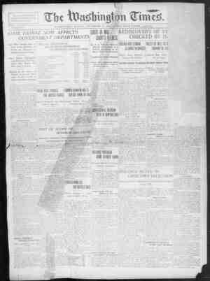 The Washington Times Gazetesi 14 Aralık 1902 kapağı