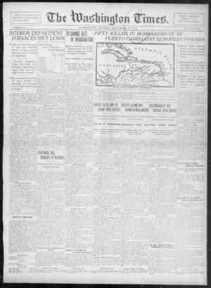 The Washington Times Gazetesi 15 Aralık 1902 kapağı