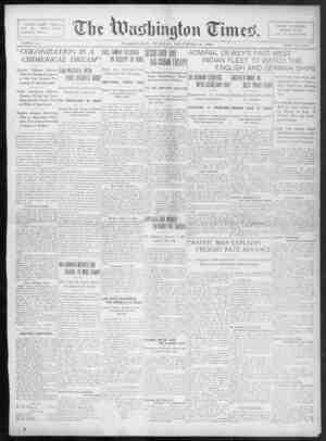 The Washington Times Gazetesi 16 Aralık 1902 kapağı