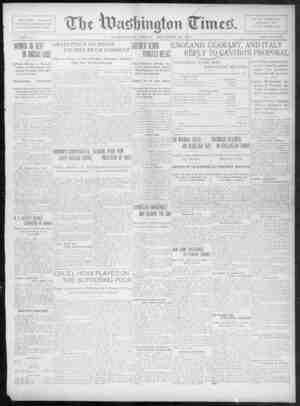 The Washington Times Gazetesi 19 Aralık 1902 kapağı