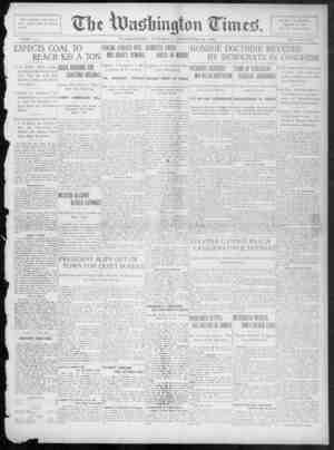 The Washington Times Gazetesi 20 Aralık 1902 kapağı